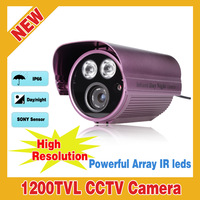 NEW HD 1200TVL IR-CUT Array IR Weatherproof Home Surveillance Security CCTV Camera Outdoor Day/Night Security Camera