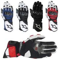 2014 FREE SHIPIPNG BRAND NEW Alpine/stars SP 1  Gloves Original MEN'S Genuine Leather gloves Driving Gloves Motorcycle Gloves