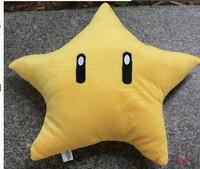 Free Shipping 30cm plush toy Yellow Star  Mario plush toys  children plush toys gift