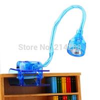 Bendable clip book light portable lamp lights
