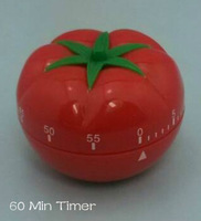 Free shipping!! Vegetables set time reminder Smart 60 minutes tomato timer clock