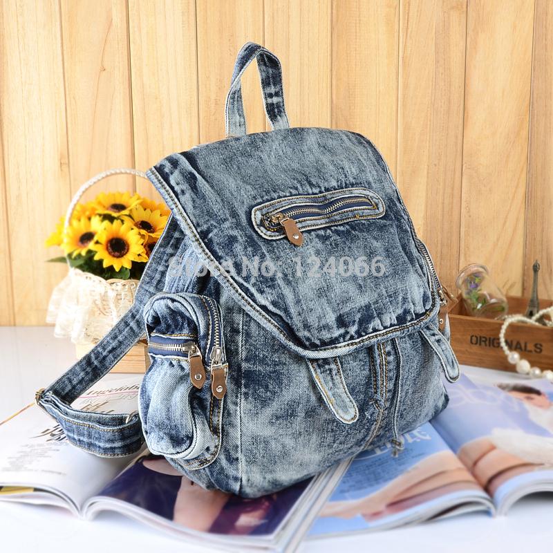 Как сделать стильный рюкзак из джинсов