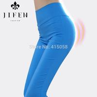 High waist legging female plus size elastic skinny pants thin basic trousers slim