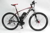 Support Wholesale 29er Electric Bike Bicycle 48V 750W 29er Mid-Drive Motor+9-speed+48V 12Ah Li-ion Battery+LCD Display