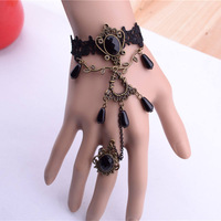 statement pearl lace Gothic bracelet accessories new product alibaba jewelleries free shipping ! 2013 new products