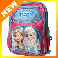 2014  new schoolbag, High quality cartoon schoolbag,Frozen big backpack, children's school bags,Kids holiday gift
