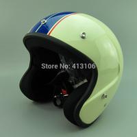 Free shipping Motorcycle Jet helmet/ Vintage helmet/Retro helmet/ FLYING HORSE brand DOT approved open face helmets