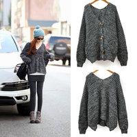 Free shipping new 2015 fashion brand women winter plus size crochet cardigan sweaters coat dresses tricotado casacos femininos