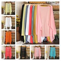 New Women Cardigan Fashion Sweet Knitwear Blouse Long Sleeve Sweater Sunscreen Coat Clothing