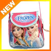 2014   new schoolbag cartoon schoolbag,Frozen shoulder backpack, children's school bags,Kids summer holiday gift