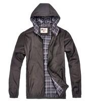 Men's Outdoor waterproof Jacket Men Hoodie Jacket High Quality Autumn & winter coat ,Large size ,Free Shipping