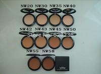 face powder Free Shipping hot sale makeup NW NEW Studio fix powder plus puff foundation 15g Pressed Powder  foundation 30pcs/lot