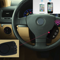 New Bluetooth Handsfree Car Speaker Kit for iPhone 4GS 5GS Samsung HTC Sony