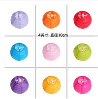 (20pcs/lot) 4''(10cm)Free shipping Chinese paper lantern lamp festival&wedding decoration