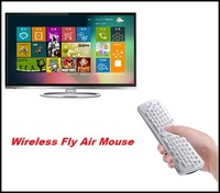 New arrival White 2.4GHz Wireless Fly Air Mouse Gyro Sensing Keyboard For PC Android TV Box