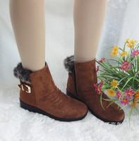 PU Women's Outdoor Flat Heel Snow Boots (More Colors) x092