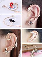 $12.6/2designs, women personality fashion earrings ear cuff