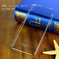 Lenovo S850 cover,imak Crystal series Case For Lenovo S850 with retail box Free Shipping