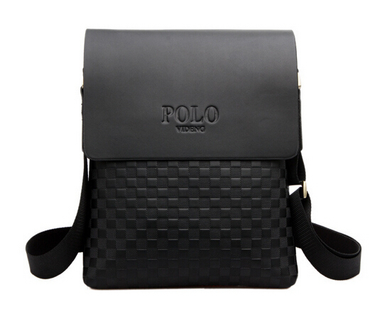 fashion men shoulder bag, high quality PU leather messenger bag, ipad computer leisure bags wholesale(China (Mainland))