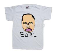 Odd Future Shirt Wolf Gang Tyler The Creator Earl Drawing - White t shirt