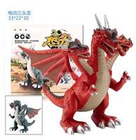 Dinosaur toys acoustooptical tyrannosaurs electric large abs Dinosaur  Free Shipping