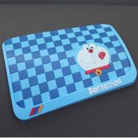 Car slip-resistant pad cartoon silica gel Large slip-resistant car cell phone pad superacids DORAEMON