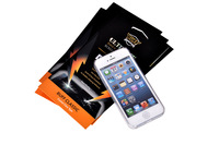 10pcs/lot Top Quality Custom Ultimate Shock Absorption BUFF Screen Protector for iPhone 5 5s 5c with Retail Package