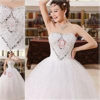 Custom made sexy Lace romantic bridal gown beach tutu casamento Mermaid Wedding Dress vestido de noiva 2014 WH62204
