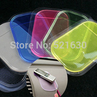 Free shipping slip-resistant mobile phone pad glove non slip pad silica gel perfume seat magic pad