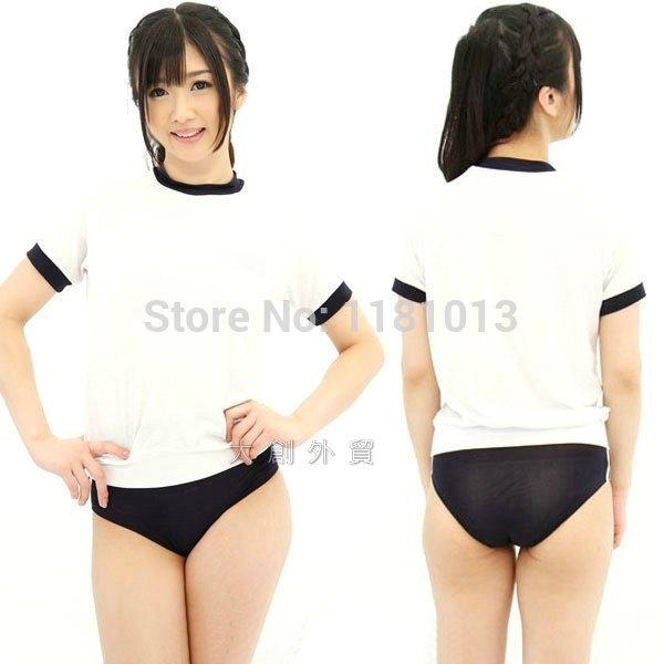 Japanese schoolgirl cosplay uniforms sexy Sportswear slightly ...