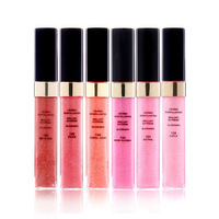 Chan limited edition lip gloss 6 piece set gift box 3g small-sample free shipping