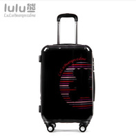 "22""inch luluBear ABS+PC hard shell traveller case rolling spinner wheels ABS+PC Pull Rod trunk  Cartoon trolley suitcase luggage"