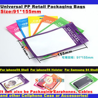 10000pcs!Universal PP Packing Bags/Packaging Display Bags for all kinds of Mobile Cellphone Case,Shell,Holstoer,Earphone,Cable