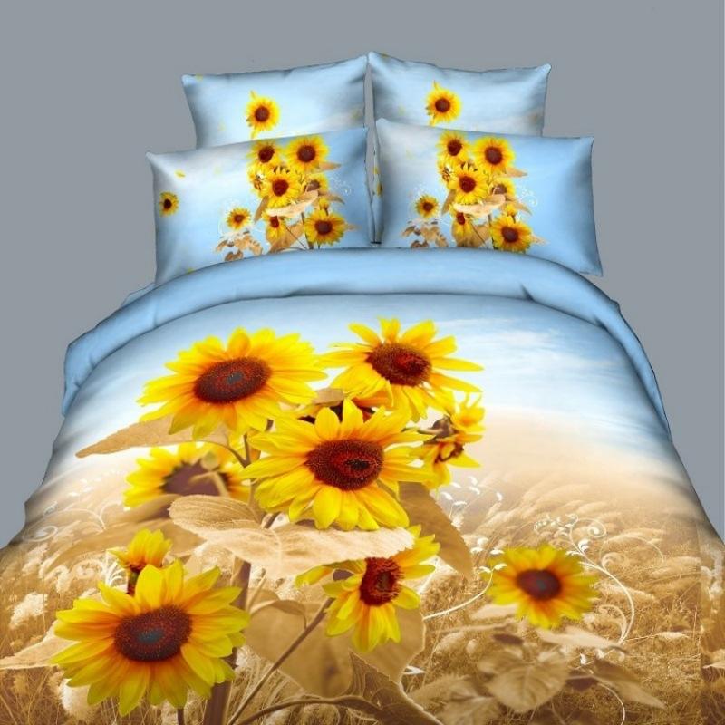 Lençol preto flor branca 100 de cama de algodão definir rainha rei colcha tamanho cama conjunto 3d edredon luxo / quilt conjuntos de tampa(China (Mainland))