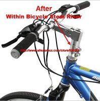 Cycling Stem Riser Bicycle Fork Stem Handlebar Fork Stem Adaptor Extender Head Up Adapter