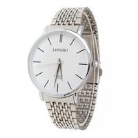 LONGBO Sport Brand Hot Promotions Top Luxury 2 Colors New Fashion Jewelry Casual Sport Men Steel Quartz Watch 8810B