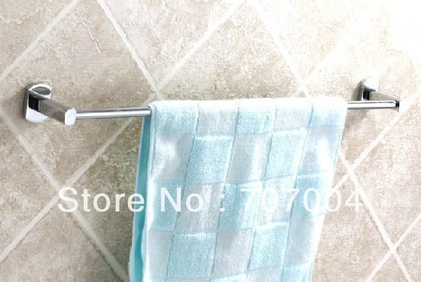Bathroom Accessory Towel Bar towel rail cheap chrome 6ocm length(China (Mainland))