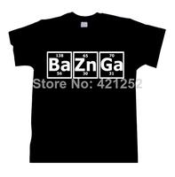 Bazinga Periodic Table  Theory Sheldon Cooper - Black Shirt