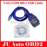 VAG 409.1 OBD2 USB Cable Car Diagnostic Tool VAG409.1 OBDII Scanner Cable For Volkswagen VW Aud Cars