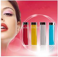 lipstick Power Bank 2600MAH portable usb 18650 external battery backup charger key chain for iphone mobile phone free ship 20pcs