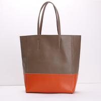 Hot sale 2014 Spring genuine leather calfskin barrel-shaped shoulder bags handbags women's messenger bags