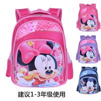 Fashion zipper Nylon waterproof mochila infantil cartoon minnie micky mouse kids backpack children school bags for girls boys