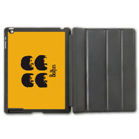 For iPad 2 3 4/iPad 5 Air/iPad Mini Free Shipping The Beatles Music Band Protective Smart Cover Leather Case