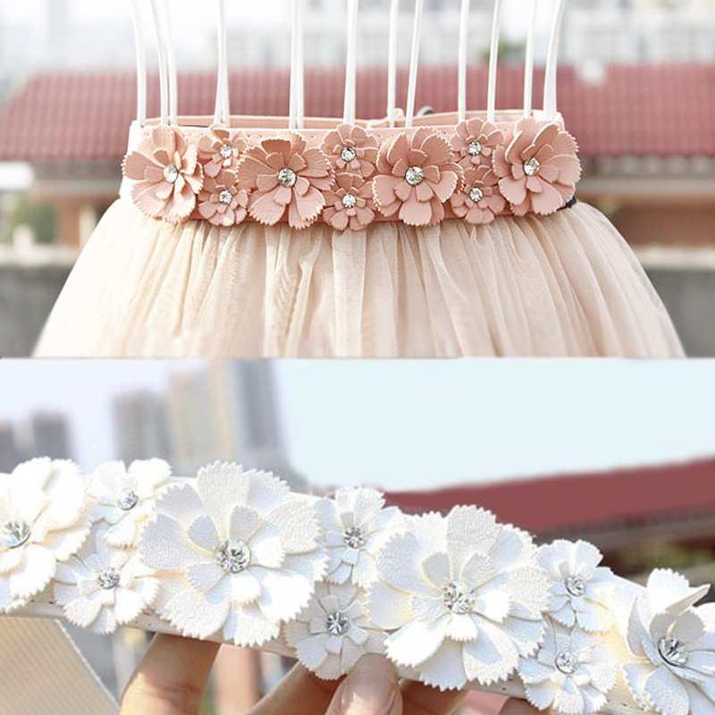 New Hot Fashion Women Girls Flowers Elastic Waist Band Stretch Waistband Belt(China (Mainland))