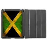 For iPad 2 3 4/iPad 5 Air/iPad Mini Retro Jamaica Flag Pattern Protective Smart Cover Leather Case ,