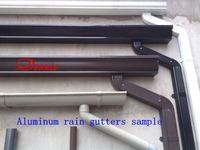 Aluminum  Rain gutters  Sump  Water system  Finished Gutter  Metal Gutter  Gutters  Organized roof drainage
