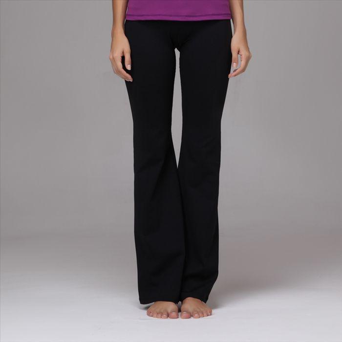 Brilliant Women Ladies Black Yoga PantsModal PantsBoho Loose Long Trousers