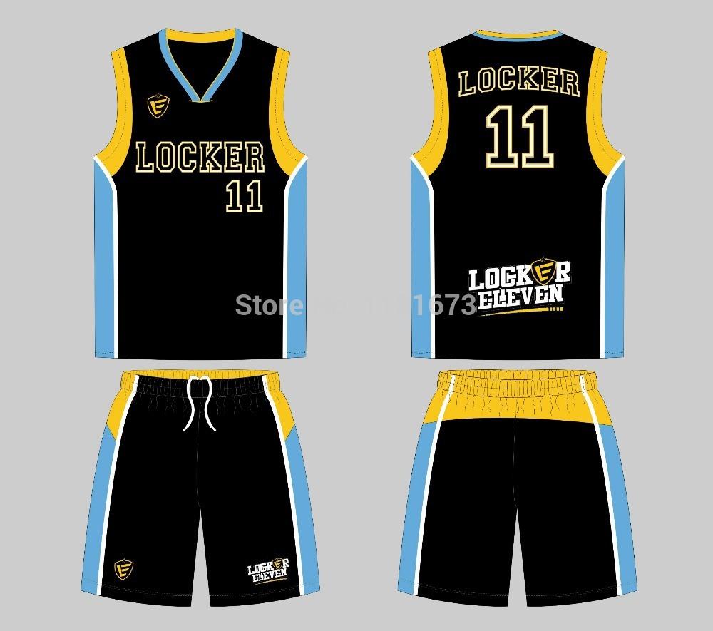sublimation custom basketball team uniform(China (Mainland))