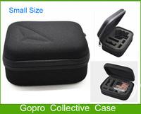 1PC Gopro Case For Gopro Hero3+ Hero3 Hero2 Hero1 Collective Bags Camera Accessories EVA Material Black(17.2*12.3*6.9cm)