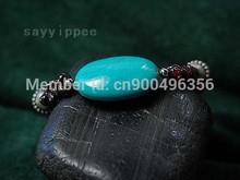 Fine silver turquoise bracelet fashion girls Bracelet Jewlery #DH-121